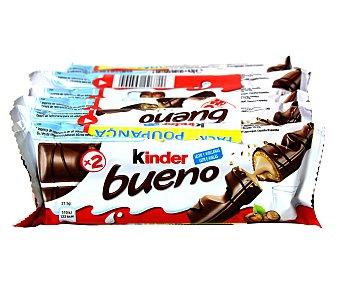 Kinder Kinder Bueno  6 paquetes de 2 unidades, 258 g