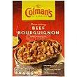 Salsa de ternera Bourguignon Sobre 40 g Colmans