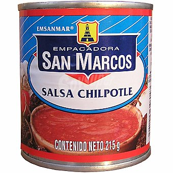 SAN MARCOS Salsa chilpotle Lata 215 g