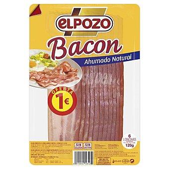 EL POZO Bacon lonchas sobre 120 g