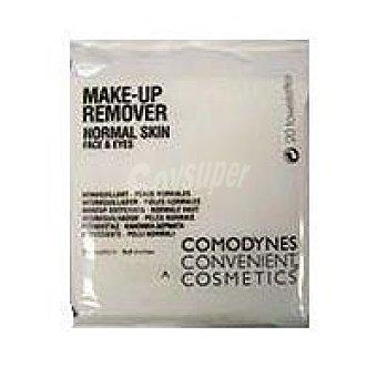 COMODYNES Urban Cosmetics Desmaquillador piel normal Paquete 20 unid