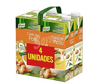 Knorr Caldo de pollo de la Abuela Pack 4 uds.