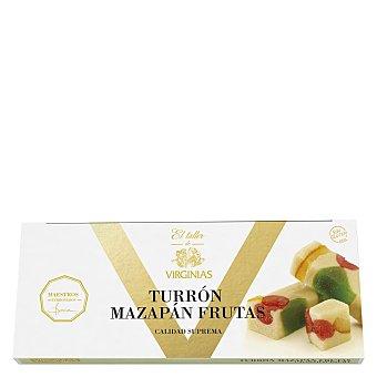 Virginias Turrón de mazapán con frutas El taller de 200 g