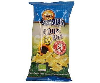 Añavieja Patatas fritas en aceite de girasol sin sal 125 g