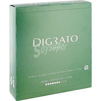 Ditrato Café molido de tueste natural ápsulas intensidad 7 estuche 90 g 15 c
