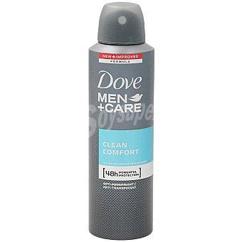 Dove Desodorante masculino Clean Spray 200 ml