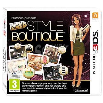 Nintendo Videojuego Style Boutique  1 Unidad