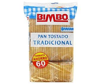 Ortiz Bimbo pan tostado 60 reb 550G