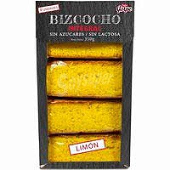 Garpe Bizcocho integral sin azúcar de limón garpe 350 g