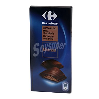 Carrefour Mousse de chocolate con leche 160 g