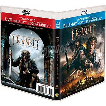 CINCO El Hobbit: La Batalla De Los Ejércitos Blu-Ray (peter Jackson)