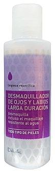 Deliplus Desmaquillador ojos labios (larga duracion) Botella 125 cc