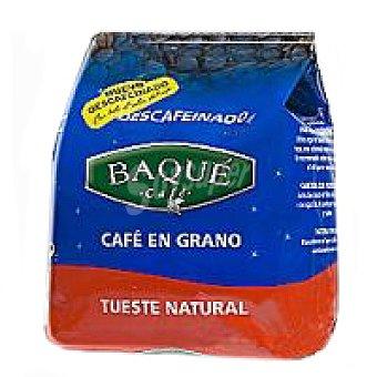 Baqué Café en grano descafeinado Paquete 250 g
