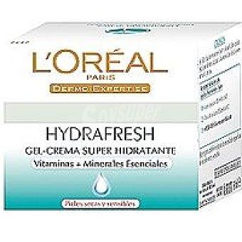 Hydrafresh L'Oréal Paris Crema piel seca l`oreal Tarro 50 ml