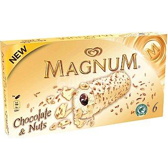 MAGNUM de FRIGO Chocolate & Nuts 6 unidades estuche 384 ml 6 unidades