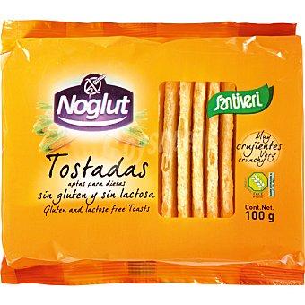 SANTIVERI NOGLUT Tostadas ligeras sin gluten Estuche 100 g
