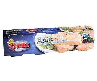 Orbe Atún en aceite vegetal 4 unidades de 85 gramos