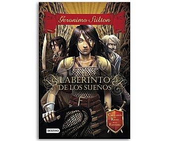Destino Gerónimo Stilton, Caballeros del reino de la fantasía 1, El laberinto de los sueños, vv.aa. Género juvenil, Editorial Destino