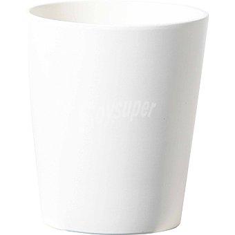 FANSA BEJ10FZF maceta de ceramica orquidea en color blanco de 14 cm