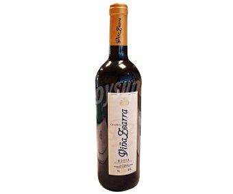 VIÑA ZEARRA Vino tinto crianza Botella de 75 Centilitros