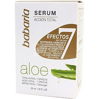 Babaria Serúm facial acción total 7 efectos con Aloe Vera Frasco 50 ml