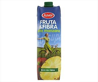 Juver Fruta y fibra piña manzana Envase de 1 l