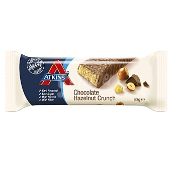 ATKINS ADVANTAGE Barrita snacks de chocolate y avellanas envase 60 g