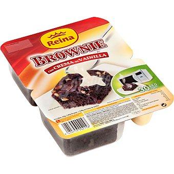 Postres Reina Brownie con crema de vainilla 2 unidades de 125 g
