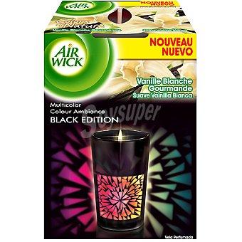Air Wick Vela ambientador negra de vainilla Pack 1 unid