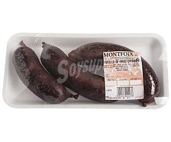 MONTFOIX Morcilla de Arroz con Piñones 800 Gramos