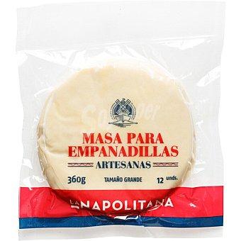 La Napolitana Masa para empanadillas grandes refrigerada Paquete 360 g