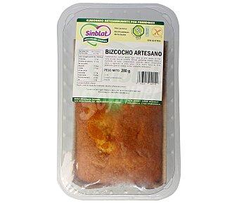 SINBLAT Bizcocho artesano sin gluten (controlado por la face), sin lactosa y sin proteínas de la leche 280 gramos