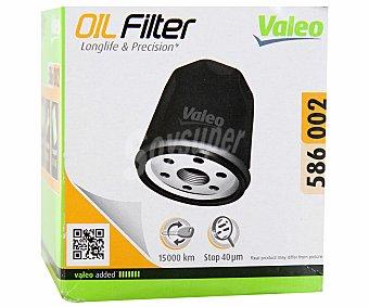 VALEO Filtro de Aceite Modelo 586002 1 Unidad