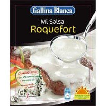 Gallina Blanca Salsa roquefort para ensaladas Sobre 30 g