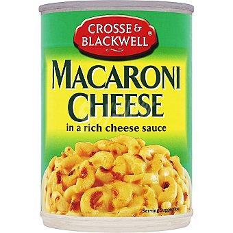 CROSSE & BLACKWEL Macarrones con queso lata 410 g neto escurrido Lata 410 g neto escurrido