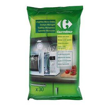 Carrefour Toallitas limpieza microondas 30 ud