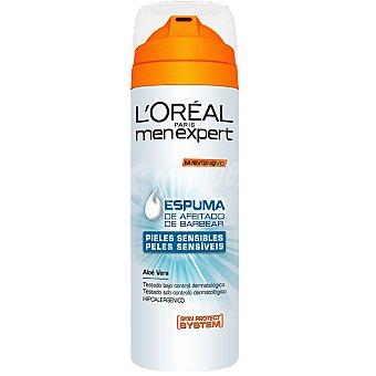 Men Expert L'Oréal Paris Espuma de afeitar piel Sensible Spray 200 ml