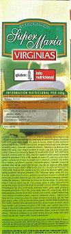 Virginias Galletas Super María sin Sal y Sin Azúcar 540 Gramos