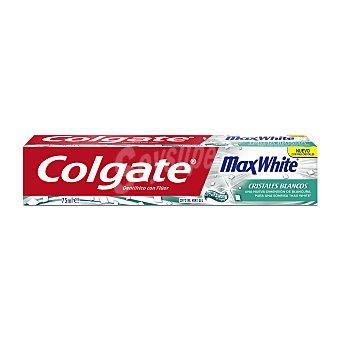 Colgate Max White Pasta de dientes con cristales blancos y sabor a menta 75 ml