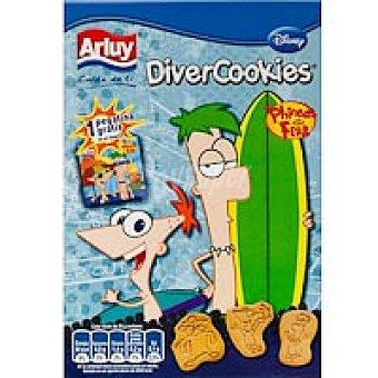 Arluy Divercookies phineas&ferb Caja 145 g