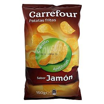 Carrefour Patatas fritas Jamón 150 g