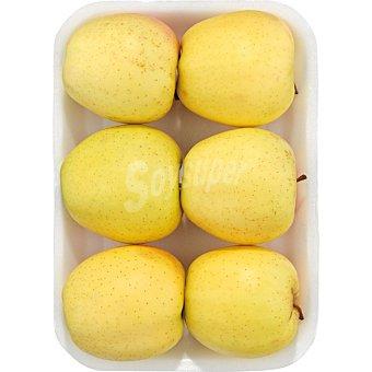 Manzana golden alta montaña de Aragón Bandeja de 1,2 kg peso aproximado