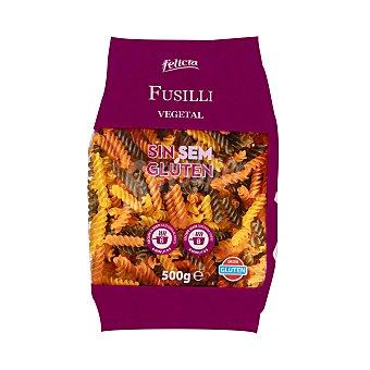 Felicia Helices vegetales con quinoa pasta sin gluten Paquete 500 g
