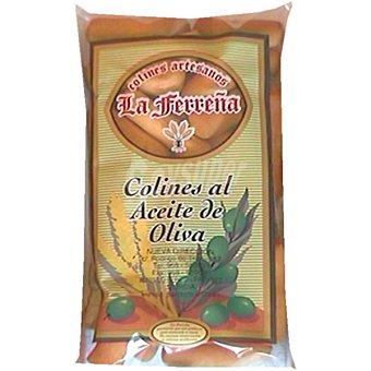 LA FERREÑA Colines de pan con aceite de oliva Bolsa 140 g