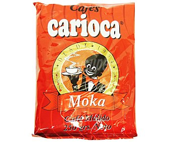 Carioca Café molido moka Bolsa 250 g