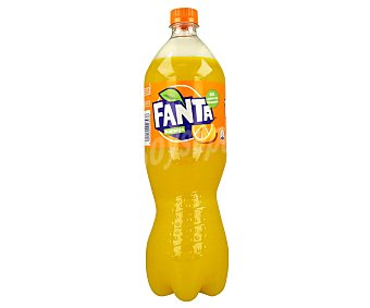 Fanta Refresco de naranja con gas Botella 1,25 litros
