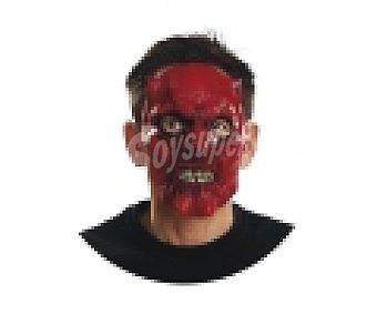 MY OTHER ME Complemento para disfraz Halloween, máscara de Demonio 1 unidad