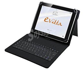 EVITTA KEYTAB Funda con teclado para tablets de 7¨ y 8¨ 1 unidad