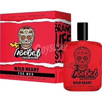 Rebel Colonia de hombre Wild Heart 100 ml
