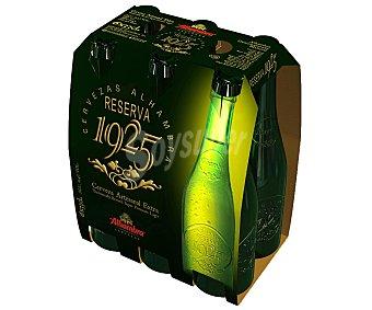 Alhambra Cerveza reserva Pack 6x33 cl